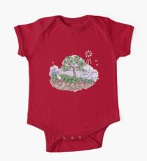 Gaia with outback persimmon tree Kids Clothes
