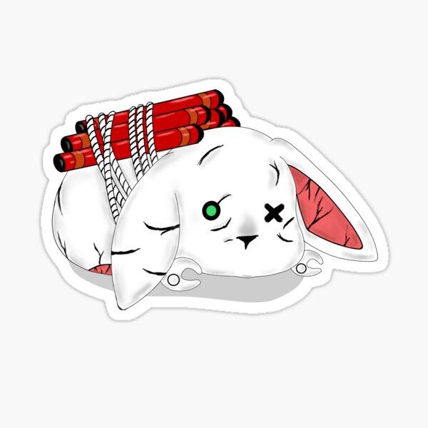 Tiny Tina Rabbit Glossy Sticker