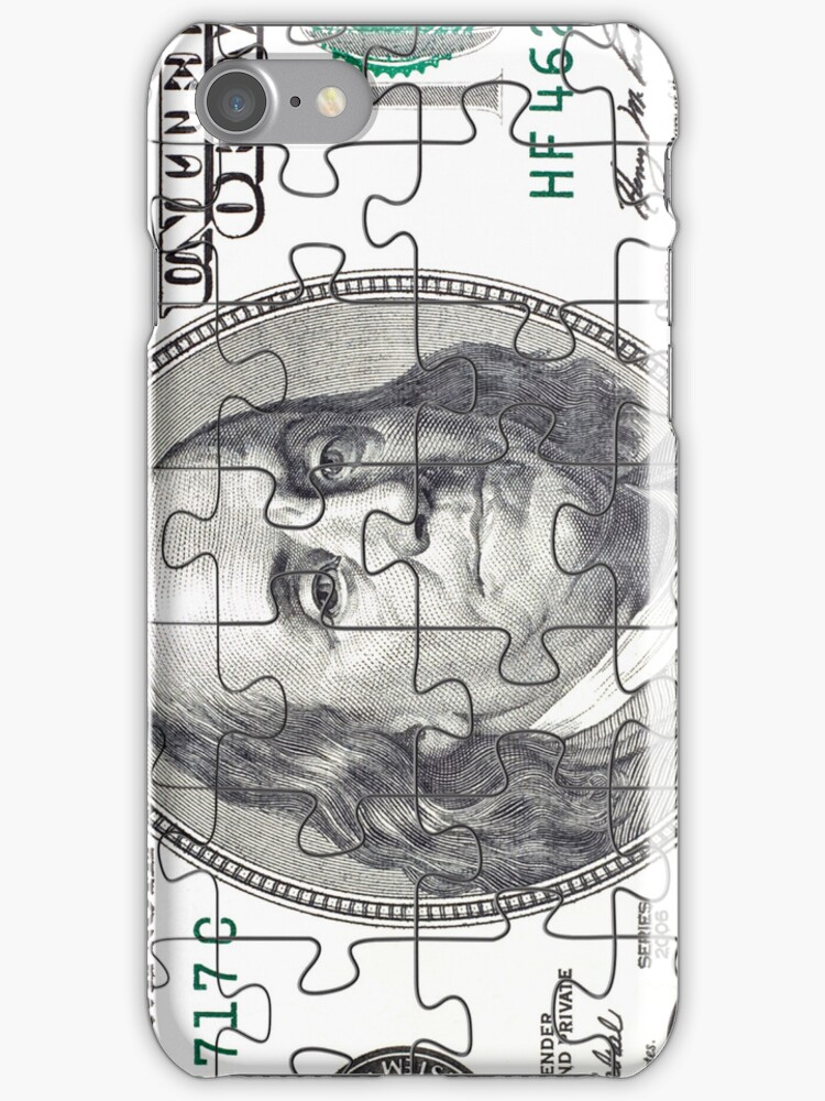 Puzzle in the form of currency by nikolaich