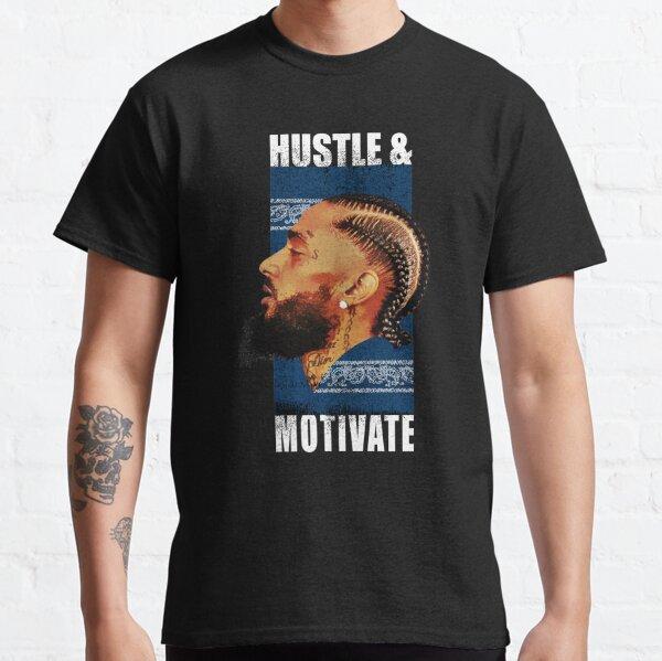 Hustle and Motivate T-shirt classique