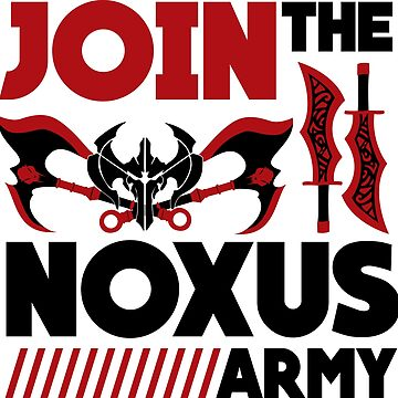 Noxus army by LazyDesigns