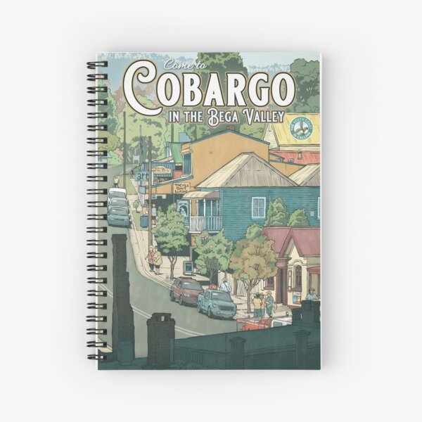 Cobargo Spiral Notebook