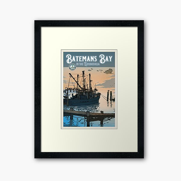 Batemans Bay Framed Art Print