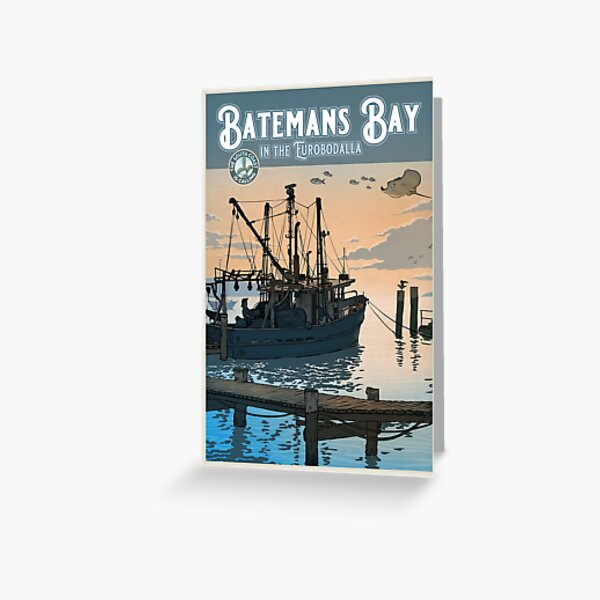 Batemans Bay Greeting Card