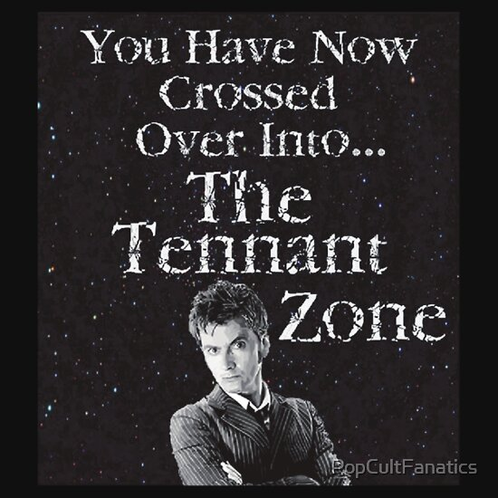 TShirtGifter presents: You Have Now Crossed Over Into The Tennant Zone ( T-Shirt )