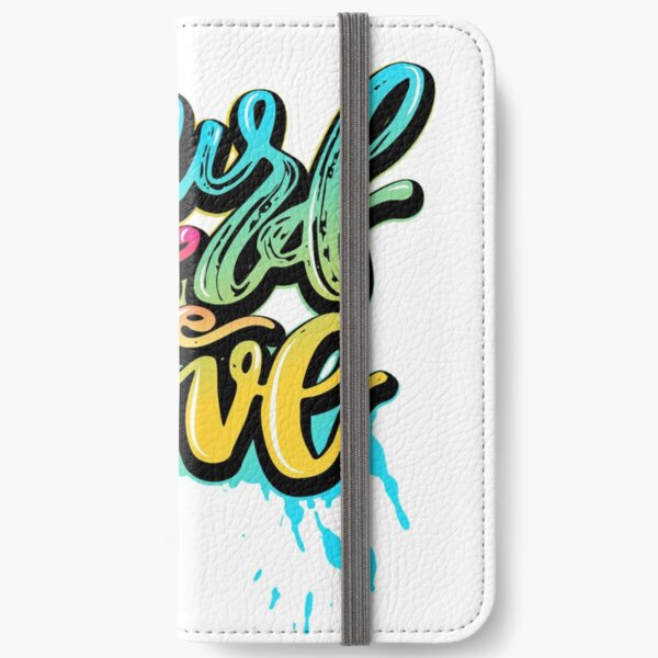 Surf the Wave iPhone Wallet
