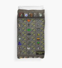 Maxed Skills Duvet Cover