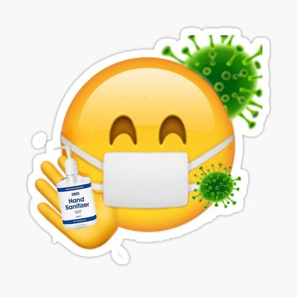 Corona Emoji Sticker
