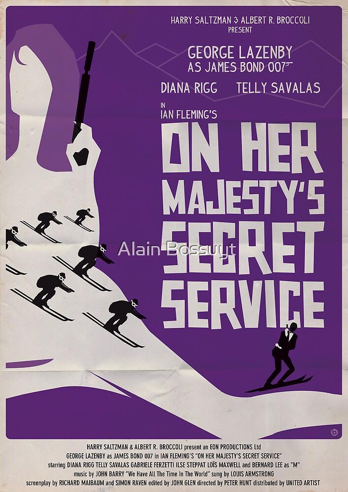 On Her Majesty's Secret Service by Alain Bossuyt