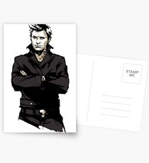 Supernatural - Punk!Lucifer Postcards