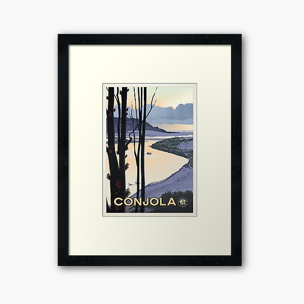 Conjola Framed Art Print