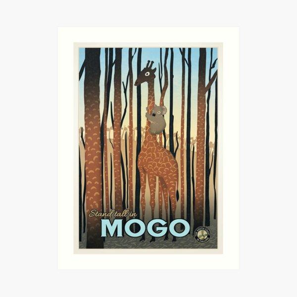 Mogo Art Print