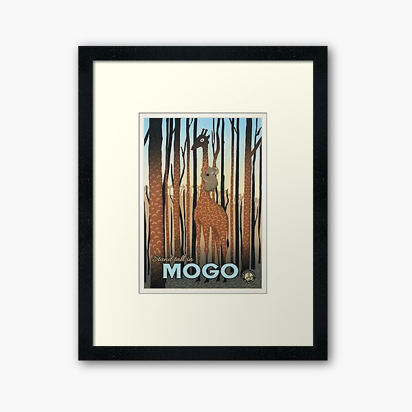 Mogo Framed Art Print