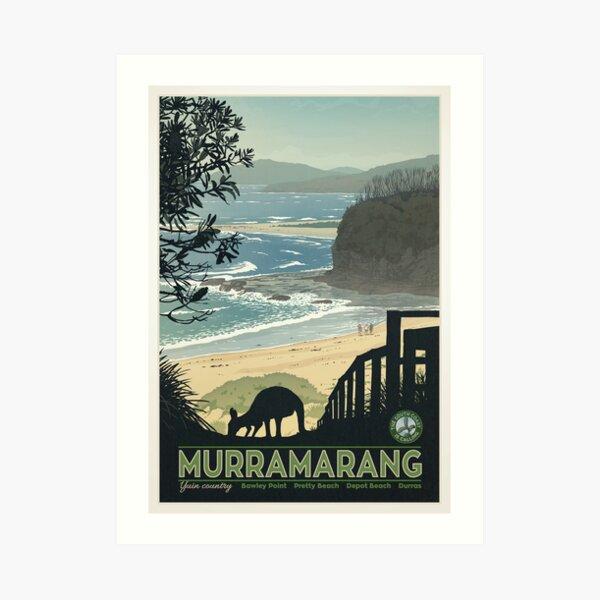 Murramarang Art Print