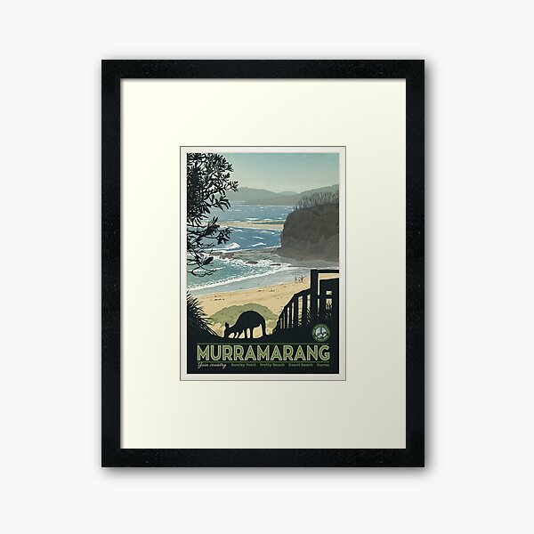 Murramarang Framed Art Print