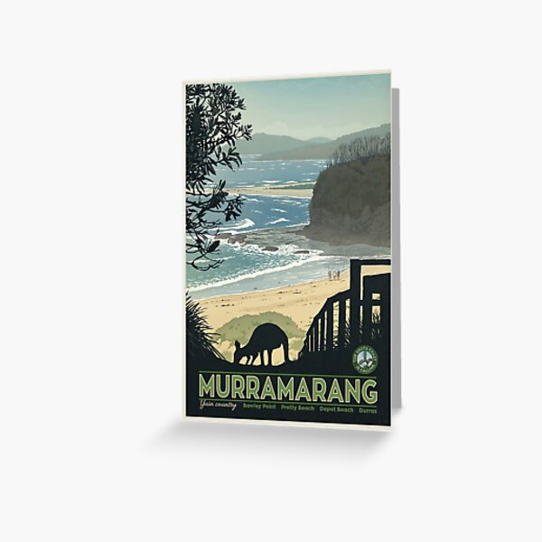 Murramarang Greeting Card