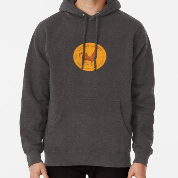 Little Jerry Rooster [distressed] Pullover Hoodie