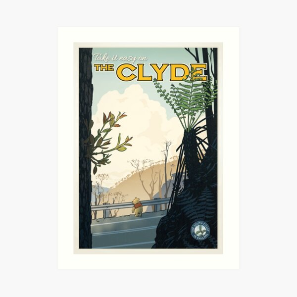 The Clyde Art Print