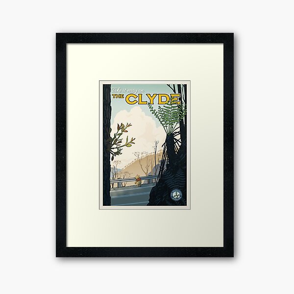 The Clyde Framed Art Print