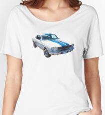 1965 GT350 Mustang Muscle Car Women's Relaxed Fit T-Shirt