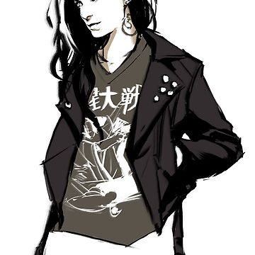 Supernatural - Punk!Charlie by feredir