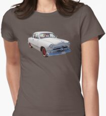 1950  Ford Custom Antique Car Womens Fitted T-Shirt