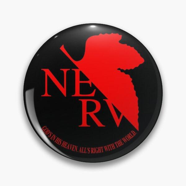 NERV Logo Pin