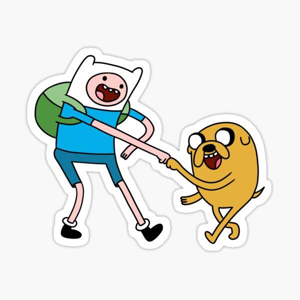 Finn und Jake |Adventure Time Charaktere Sticker