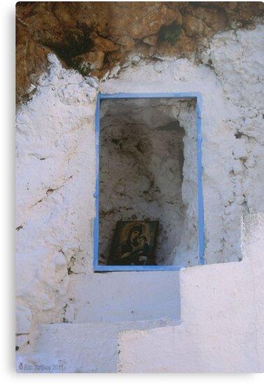 Crete - Stairways to heaven by Eric Strijbos
