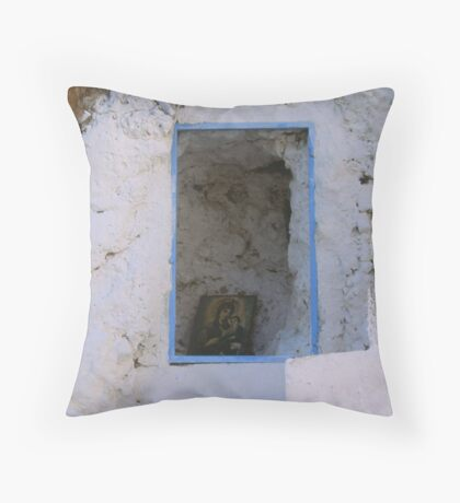 Crete - Stairways to heaven Throw Pillow