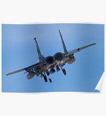 WA AF 91-0328 Tail Shot Poster