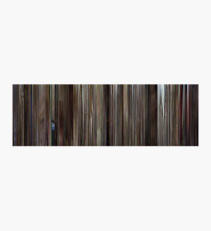 Moviebarcode: Rushmore (1998) Photographic Print