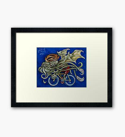 Cthulhu Roadie Framed Print