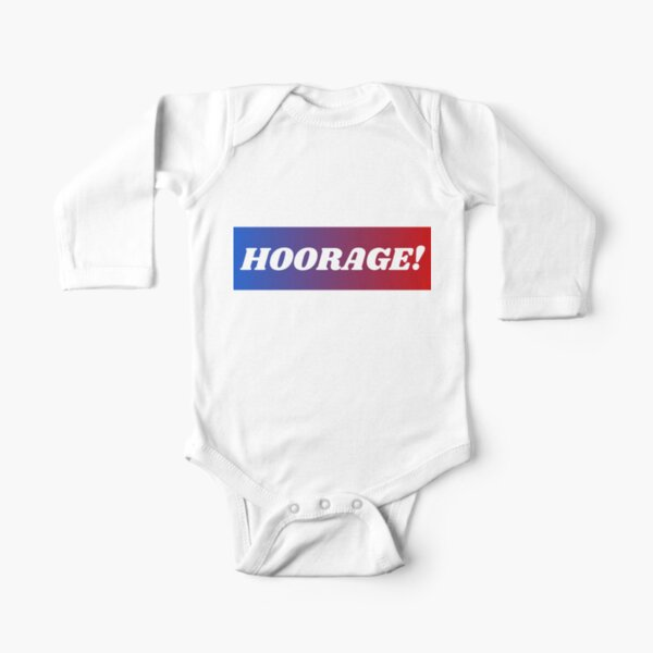 Hoorage! Long Sleeve Baby One-Piece