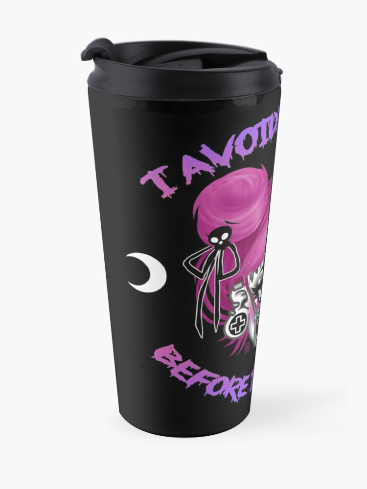 Alternate view of I Avoided People Before it was cool Travel Mug