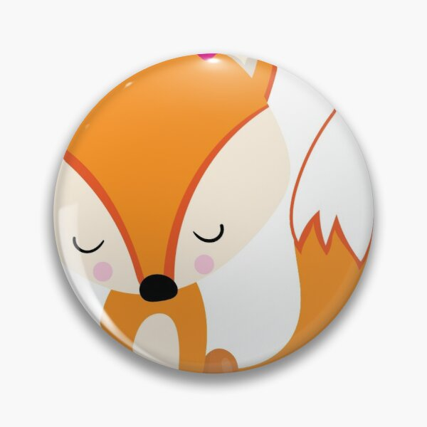 Valentines Day Fox Is Deep In Love Pin