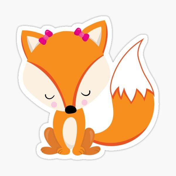 Valentines Day Fox Is Deep In Love Sticker
