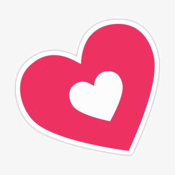 Valentines Day Hole In My Heart Sticker