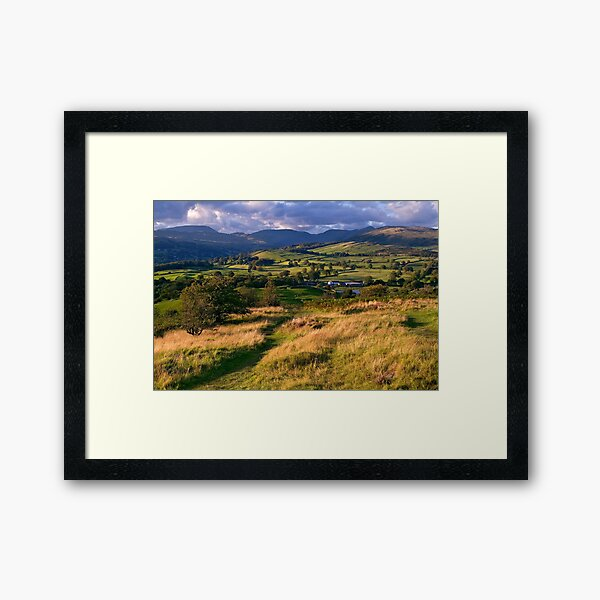 The View from Orrest Head - The Lake District Framed Art Print