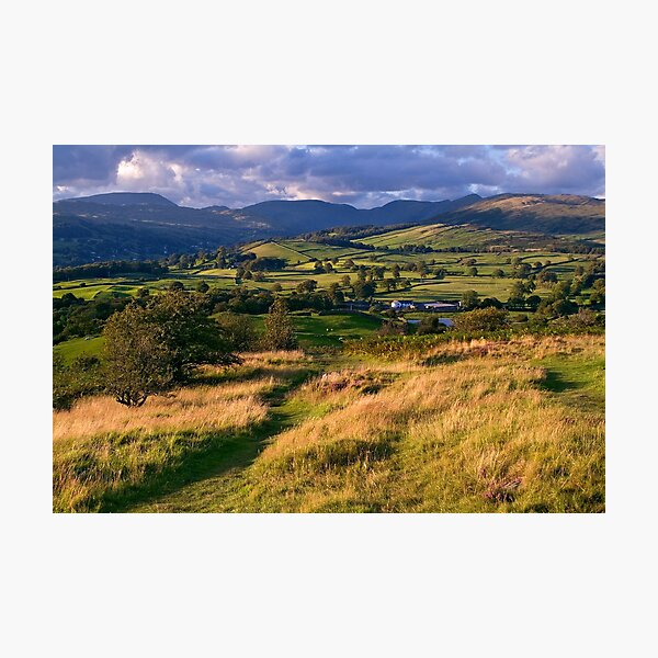 The View from Orrest Head - The Lake District Photographic Print