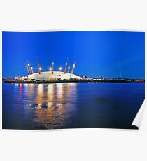 London Millennium Dome Poster
