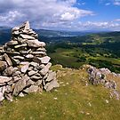 View from Lingmoor Fell - The Lake District by Dave Lawrance