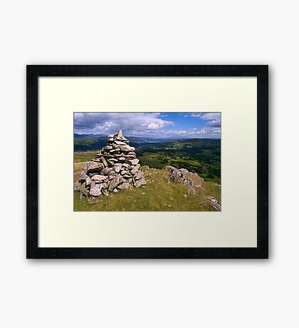 View from Lingmoor Fell - The Lake District Framed Print