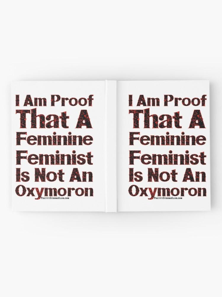 Alternate view of A Feminine Feminist Hardcover Journal