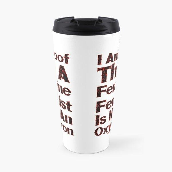 A Feminine Feminist Travel Mug