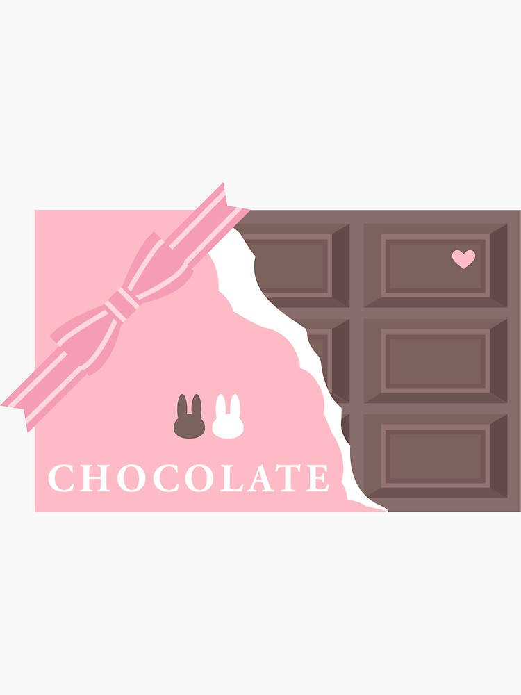 Chocobunny Ribbon Chocolate by lucidly