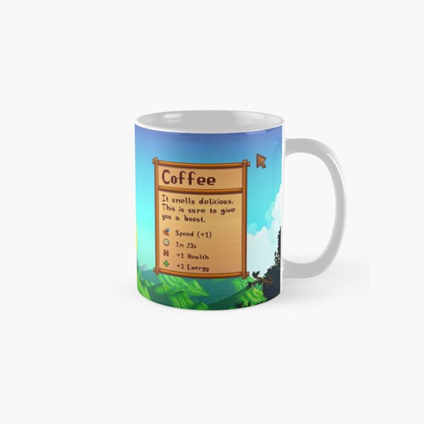 Stardew Valley Day Coffee Classic Mug