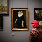 Madame à Louvre by Peppedam