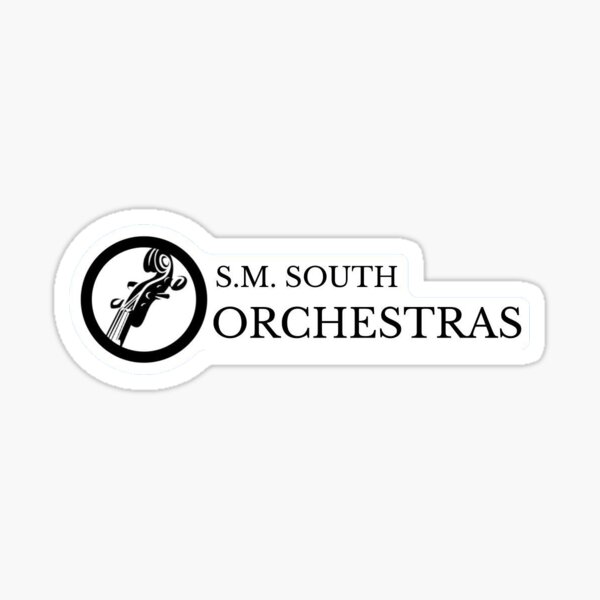 S.M. South Orchestras Sticker
