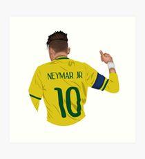 Lámina artística Neymar Junior